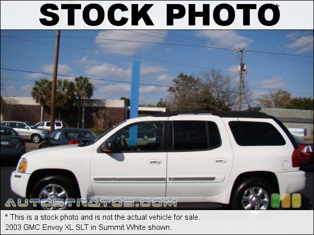 Stock photo for this 2003 GMC Envoy XL 4.2 Liter DOHC 24-Valve Inline 6 Cylinder 4 Speed Automatic