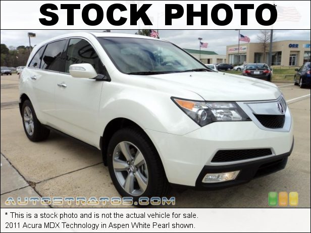 Stock photo for this 2011 Acura MDX Technology 3.7 Liter SOHC 24-Valve VTEC V6 6 Speed Sequential SportShift Automatic