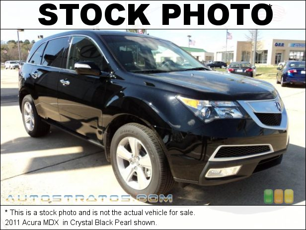 Stock photo for this 2011 Acura MDX  3.7 Liter SOHC 24-Valve VTEC V6 6 Speed Sequential SportShift Automatic