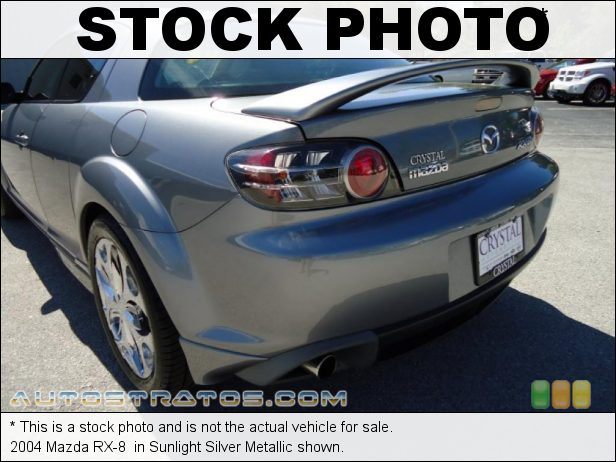 Stock photo for this 2004 Mazda RX-8  1.3L RENESIS Twin-Rotor Rotary 6 Speed Manual
