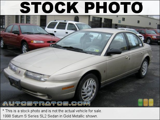 Stock photo for this 1998 Saturn S Series SL2 Sedan 1.9 Liter DOHC 16-Valve 4 Cylinder 4 Speed Automatic