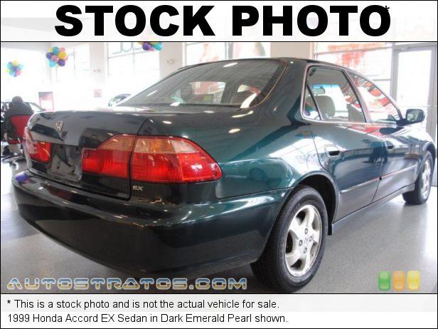 Stock photo for this 1999 Honda Accord EX Sedan 2.3L SOHC 16V VTEC 4 Cylinder 4 Speed Automatic