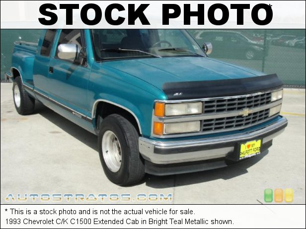 Stock photo for this 1995 Chevrolet C/K K1500 Extended Cab 4x4 5.0 Liter OHV 16-Valve V8 4 Speed Automatic