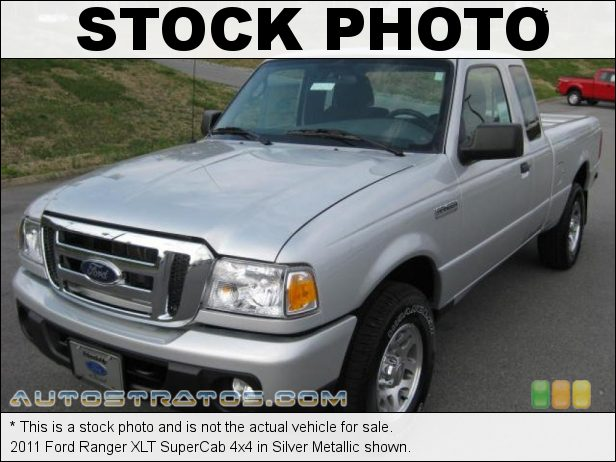 Stock photo for this 2011 Ford Ranger XLT SuperCab 4x4 4.0 Liter OHV 12-Valve V6 5 Speed Manual