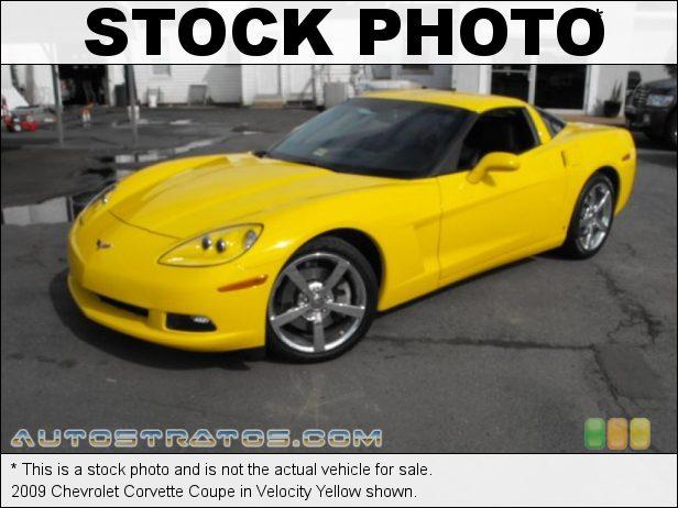 Stock photo for this 2009 Chevrolet Corvette Coupe 6.2 Liter OHV 16-Valve LS3 V8 6 Speed Manual