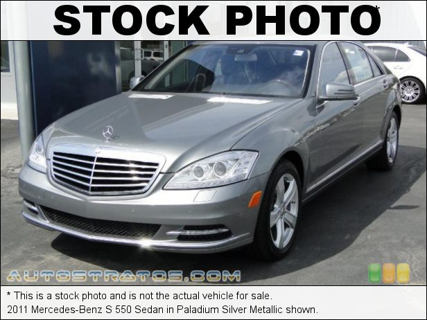 Stock photo for this 2011 Mercedes-Benz S 550 Sedan 5.5 Liter DOHC 32-Valve VVT V8 7 Speed Touch Shift Automatic