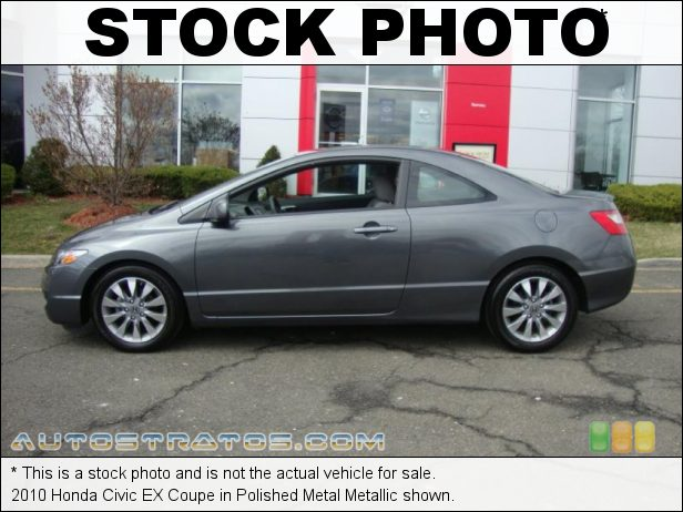 Stock photo for this 2010 Honda Civic EX Coupe 1.8 Liter SOHC 16-Valve i-VTEC 4 Cylinder 5 Speed Automatic