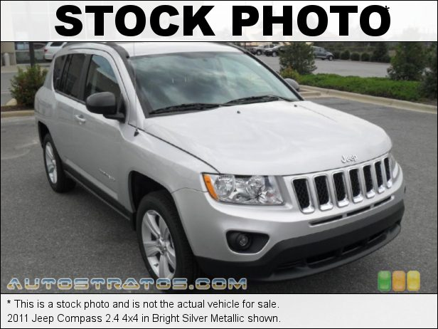 Stock photo for this 2011 Jeep Compass 2.4 4x4 2.4 Liter DOHC 16-Valve Dual VVT 4 Cylinder CVT Automatic