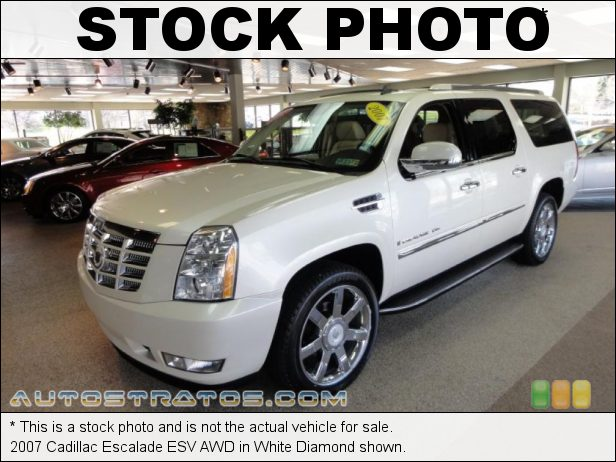 Stock photo for this 2007 Cadillac Escalade ESV AWD 6.2 Liter OHV 16-Valve VVT V8 6 Speed Automatic