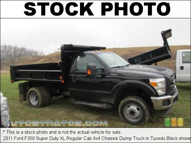 Stock photo for this 2020 Ford F350 Super Duty XL Regular Cab 4x4 Chassis Dump Truck 6.2 Liter SOHC 16-Valve Flex-Fuel V8 10 Speed Automatic