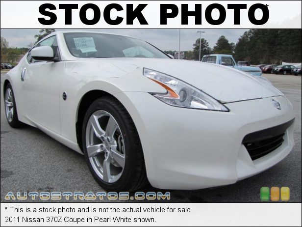Stock photo for this 2011 Nissan 370Z Coupe 3.7 Liter DOHC 24-Valve CVTCS V6 7 Speed Automatic
