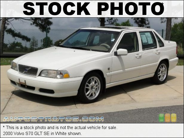Stock photo for this 1999 Volvo S70 GLT 2.4 Liter Turbocharged DOHC 20-Valve 5 Cylinder 4 Speed Automatic