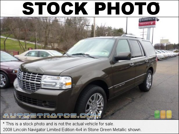 Stock photo for this 2008 Lincoln Navigator 4x4 5.4 Liter SOHC 24-Valve VVT V8 6 Speed Automatic