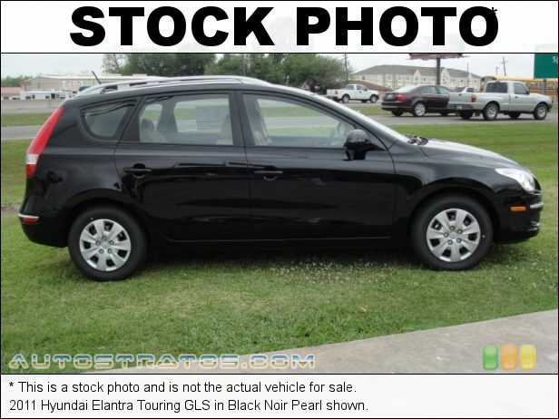 Stock photo for this 2011 Hyundai Elantra Touring 2.0 Liter DOHC 16-Valve CVVT 4 Cylinder 4 Speed Automatic