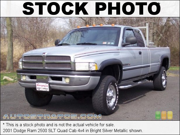 Stock photo for this 1998 Dodge Ram 2500 Extended Cab 4x4 5.9 Liter OHV 16-Valve Magnum V8 5 Speed Manual