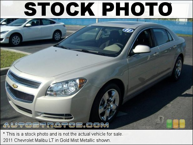 Stock photo for this 2011 Chevrolet Malibu LT 2.4 Liter DOHC 16-Valve VVT ECOTEC 4 Cylinder 6 Speed Automatic