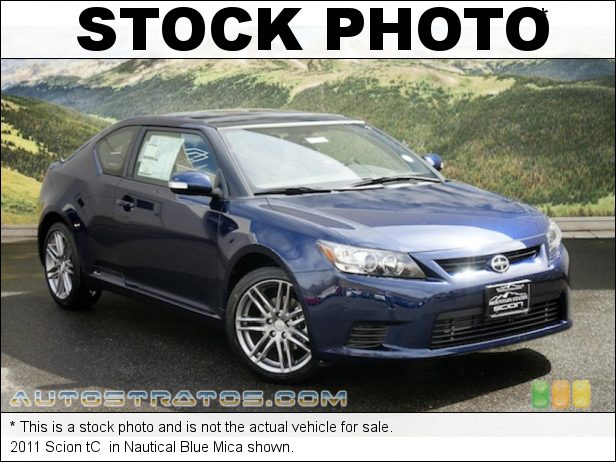 Stock photo for this 2011 Scion tC  2.5 Liter DOHC 16-Valve Dual VVT-i 4 Cylinder 6 Speed Sequential Automatic