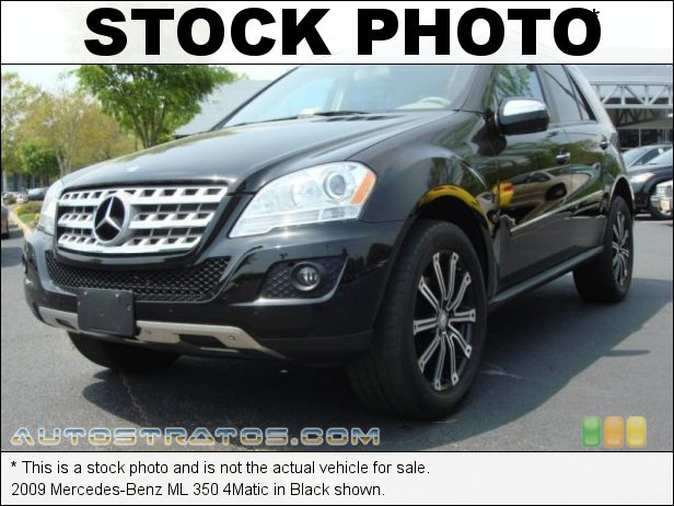 Stock photo for this 2009 Mercedes-Benz ML 350 4Matic 3.5 Liter DOHC 24-Valve VVT V6 7 Speed Automatic