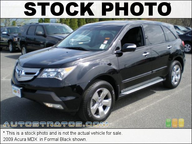 Stock photo for this 2009 Acura MDX  3.7 Liter SOHC 24-Valve VTEC V6 5 Speed Sequential SportShift Automatic