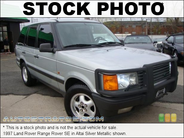Stock photo for this 1997 Land Rover Range Rover SE 4.0 Liter OHV 12-Valve V6 4 Speed Automatic