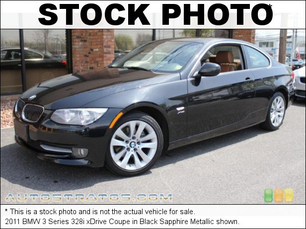 Stock photo for this 2011 BMW 3 Series 328i xDrive Coupe 3.0 Liter DOHC 24-Valve VVT Inline 6 Cylinder 6 Speed Manual