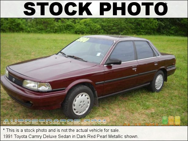 Stock photo for this 1991 Toyota Camry Deluxe Sedan 2.0 Liter DOHC 16-Valve 4 Cylinder 4 Speed Automatic