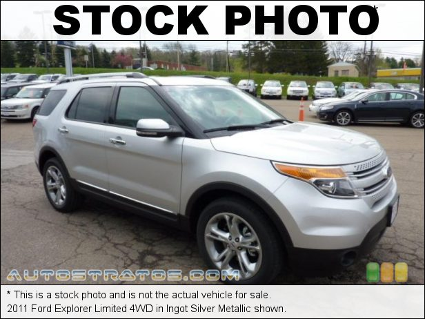 Stock photo for this 2011 Ford Explorer Limited 4WD 3.5 Liter DOHC 24-Valve TiVCT V6 6 Speed SelectShift Automatic