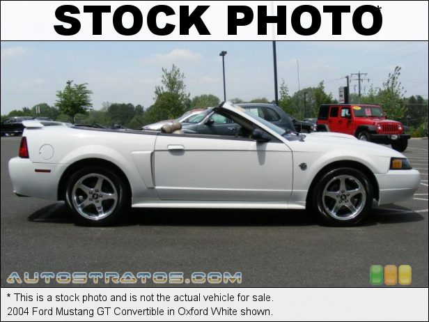 Stock photo for this 2004 Ford Mustang Convertible 4.6 Liter SOHC 16-Valve V8 4 Speed Automatic
