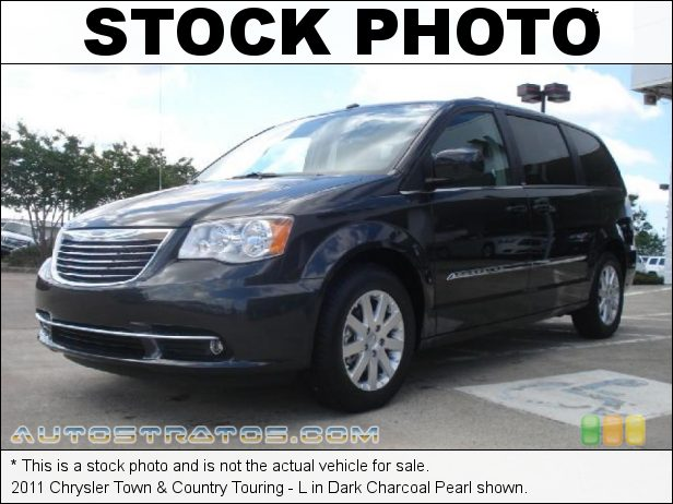 Stock photo for this 2011 Chrysler Town & Country Touring - L 3.6 Liter DOHC 24-Valve VVT Pentastar V6 6 Speed Automatic