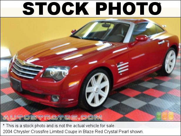 Stock photo for this 2004 Chrysler Crossfire Limited Coupe 3.2 Liter SOHC 18-Valve V6 6 Speed Manual