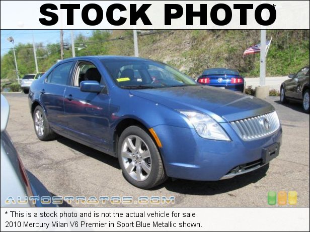 Stock photo for this 2010 Mercury Milan V6 Premier 3.0 Liter Flex-Fuel DOHC 24-Valve Duratec V6 6 Speed Selectshift Automatic