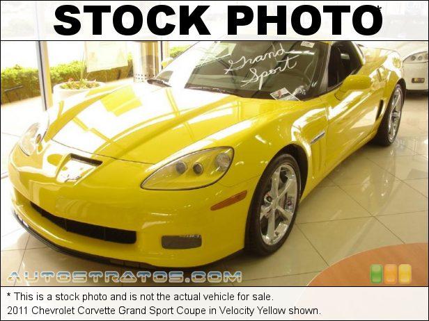 Stock photo for this 2011 Chevrolet Corvette Grand Sport Coupe 6.2 Liter OHV 16-Valve LS3 V8 6 Speed Manual