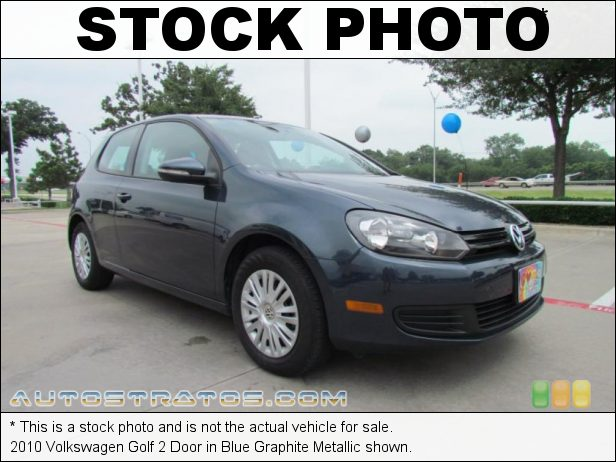 Stock photo for this 2012 Volkswagen Golf 2 Door 2.5 Liter DOHC 20-Valve 5 Cylinder 6 Speed Tiptronic Automatic