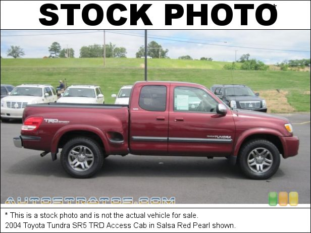 Stock photo for this 2004 Toyota Tundra SR5 Access Cab 4.7L DOHC 32V i-Force V8 4 Speed Automatic