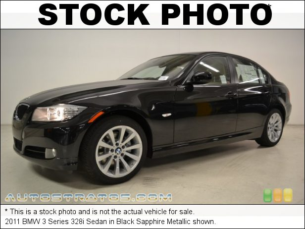 Stock photo for this 2011 BMW 3 Series 328i Sedan 3.0 Liter DOHC 24-Valve VVT Inline 6 Cylinder 6 Speed Steptronic Automatic