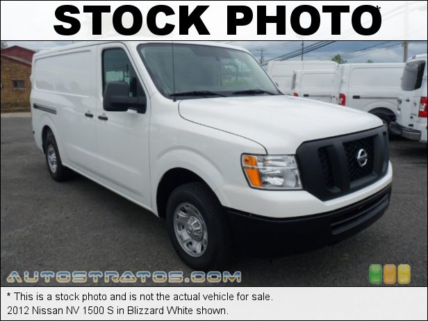 Stock photo for this 2012 Nissan NV 1500 4.0 Liter DOHC 24-Valve CVTCS V6 5 Speed Automatic