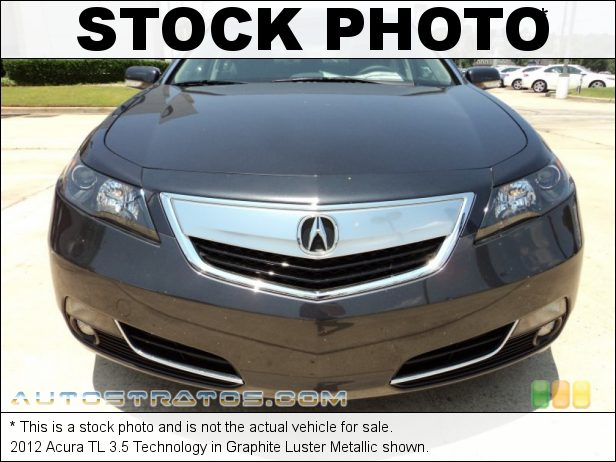 Stock photo for this 2012 Acura TL 3.5 Technology 3.5 Liter SOHC 24-Valve VTEC V6 6 Speed Sequential SportShift Automatic