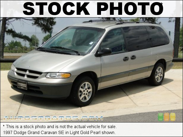 Stock photo for this 1997 Dodge Grand Caravan SE 3.3 Liter OHV 12-Valve V6 4 Speed Automatic