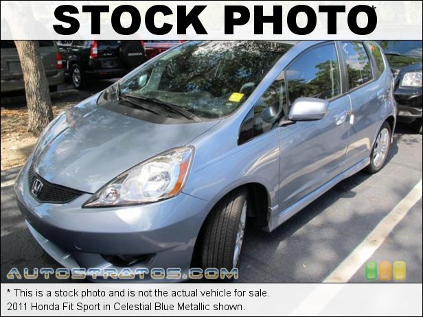 Stock photo for this 2011 Honda Fit Sport 1.5 Liter SOHC 16-Valve i-VTEC 4 Cylinder 5 Speed Automatic