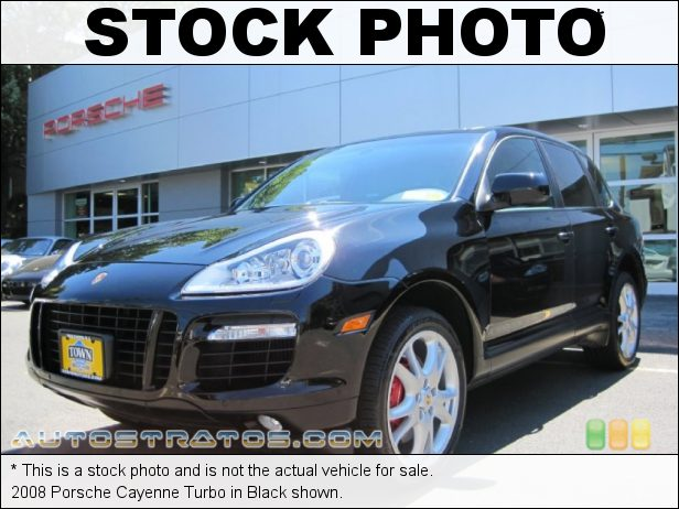 Stock photo for this 2008 Porsche Cayenne Turbo 4.8L DFI Twin-Turbocharged DOHC 32V VVT V8 6 Speed Tiptronic-S Automatic