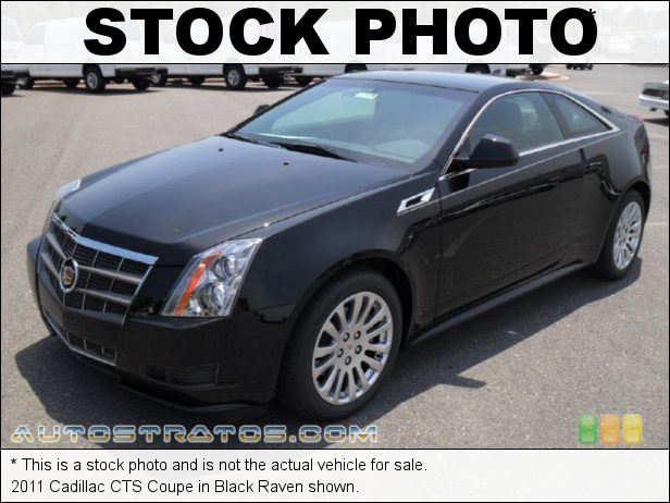 Stock photo for this 2011 Cadillac CTS Coupe 3.6 Liter DI DOHC 24-Valve VVT V6 6 Speed Automatic