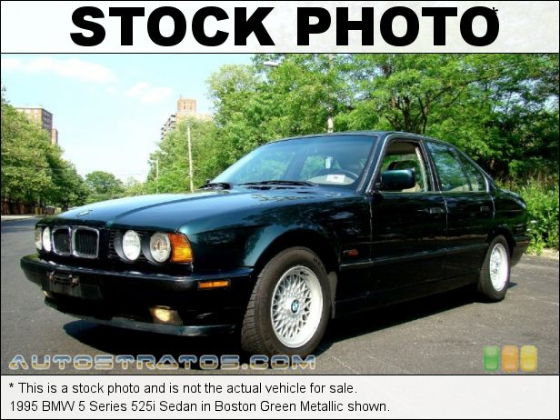 Stock photo for this 1995 BMW 5 Series 525i Sedan 2.5 Liter DOHC 24-Valve Inline 6 Cylinder 4 Speed Automatic