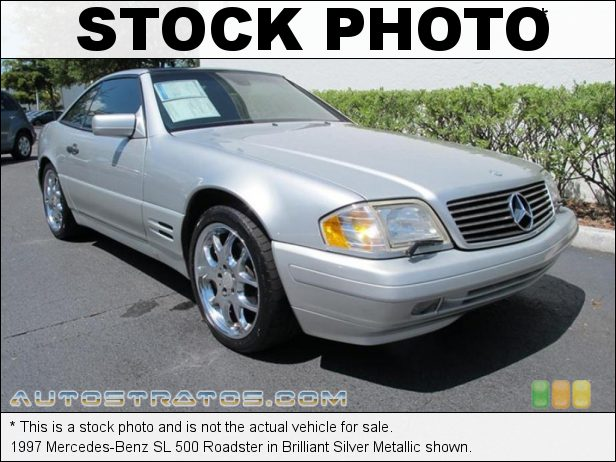 Stock photo for this 1997 Mercedes-Benz SL 500 Roadster 5.0 Liter DOHC 32-Valve V8 5 Speed Automatic