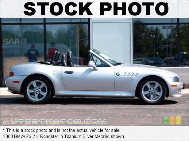 Stock photo for this 2000 BMW Z3 2.3 Roadster 2.5 Liter DOHC 24-Valve Inline 6 Cylinder 4 Speed Automatic