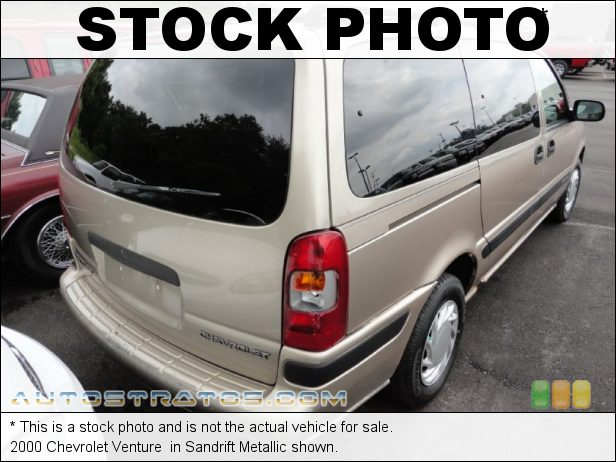 Stock photo for this 2002 Chevrolet Venture  3.4 Liter OHV 12-Valve V6 4 Speed Automatic