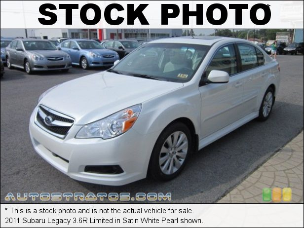 Stock photo for this 2011 Subaru Legacy 3.6R Limited 3.6 Liter DOHC 24-Valve VVT Flat 6 Cylinder 5 Speed Automatic