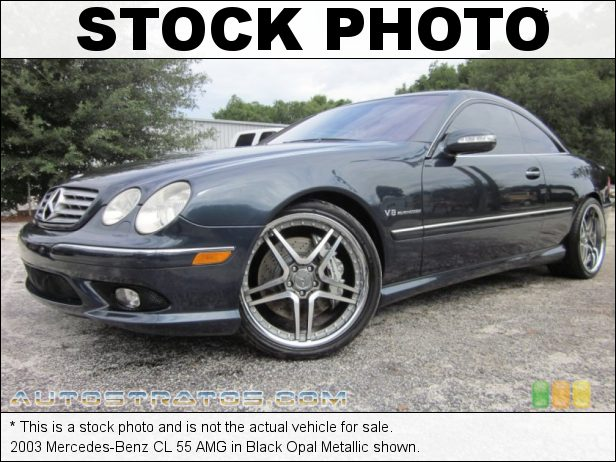 Stock photo for this 2003 Mercedes-Benz CL 55 AMG 5.4 Liter AMG Supercharged SOHC 24-Valve V8 5 Speed Automatic