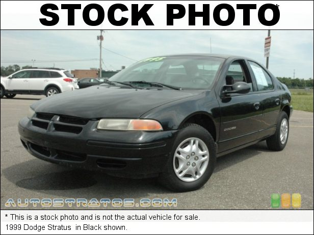 Stock photo for this 1999 Dodge Stratus  2.4 Liter DOHC 16-Valve 4 Cylinder 4 Speed Automatic