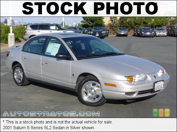 Stock photo for this 2001 Saturn S Series SL2 Sedan 1.9 Liter DOHC 16-Valve 4 Cylinder 4 Speed Automatic