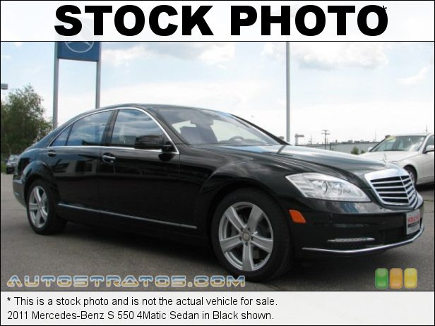 Stock photo for this 2011 Mercedes-Benz S 550 4Matic Sedan 5.5 Liter DOHC 32-Valve VVT V8 7 Speed Touch Shift Automatic